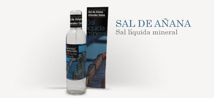 Comprar sal gourmet líquida mineral de añana