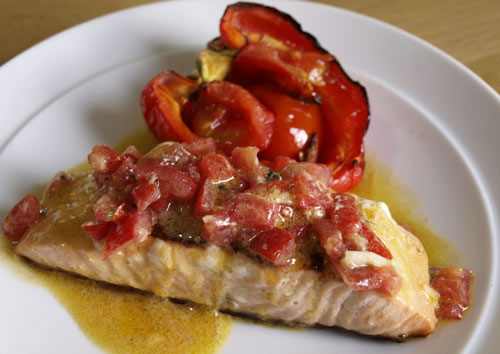 Receta de vinagreta de tomate